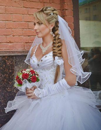 Свадебные прически с косичками