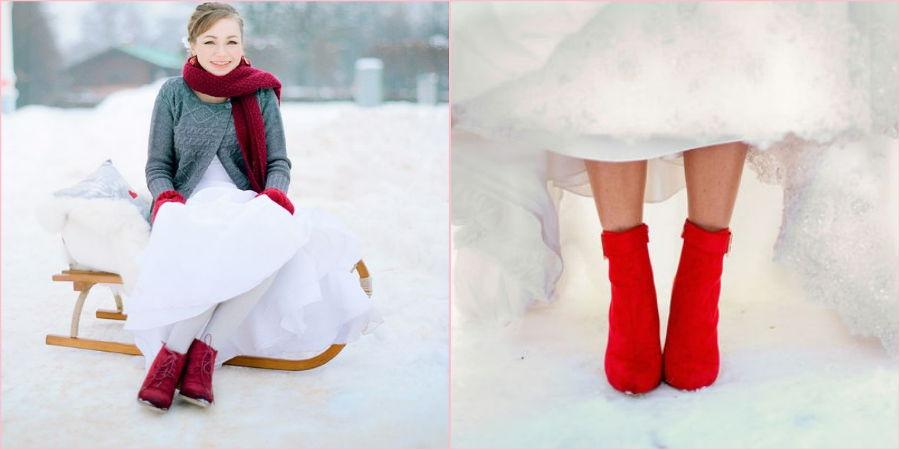 Броская и теплая обувь