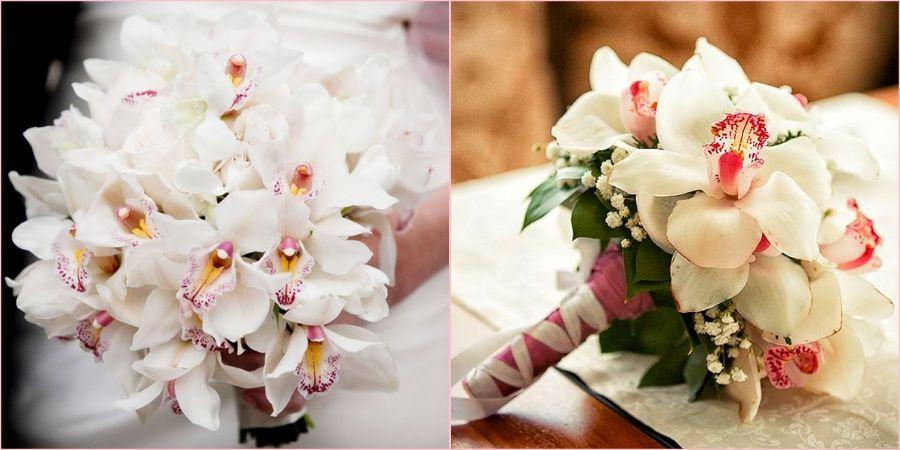 Орхидеи используют на свадьбе