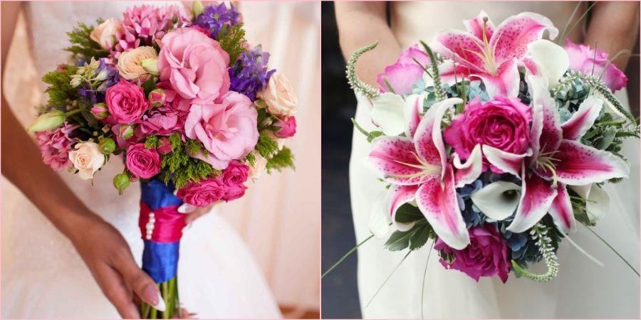Розовый подойдет на любую свадьбу