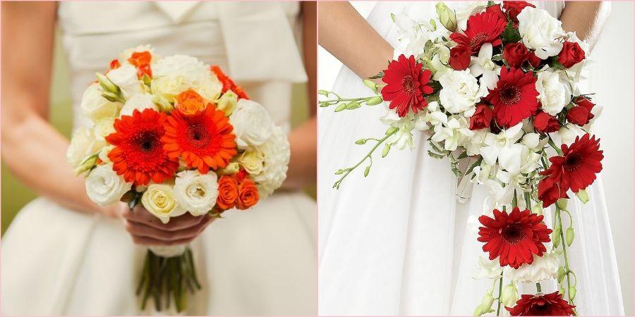 Добавьте ярких красок в образ невесты