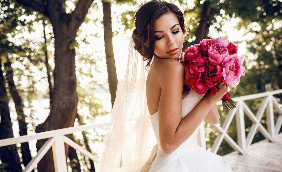 Свадебный букет из пионов на ваше торжество