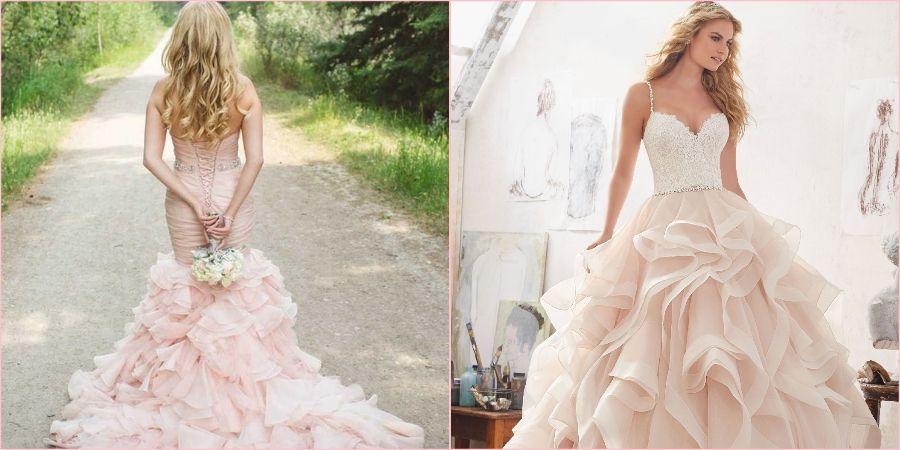 Праздничные наряды на свадьбу из органзы