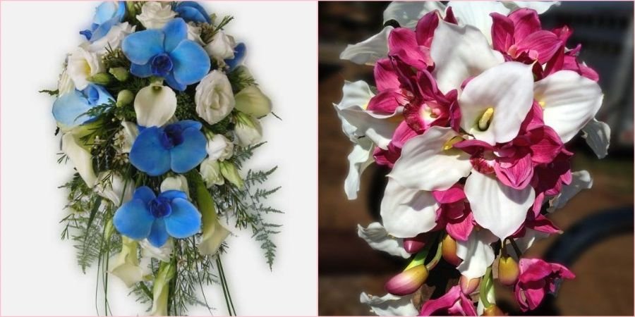 Хорошо сделать каскадную форму из орхидей