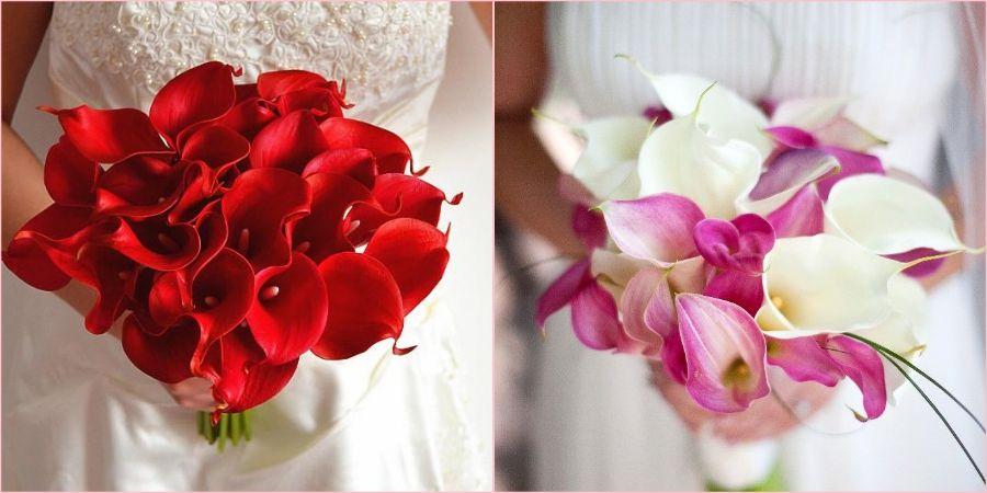 Свадьба с красными оттенками