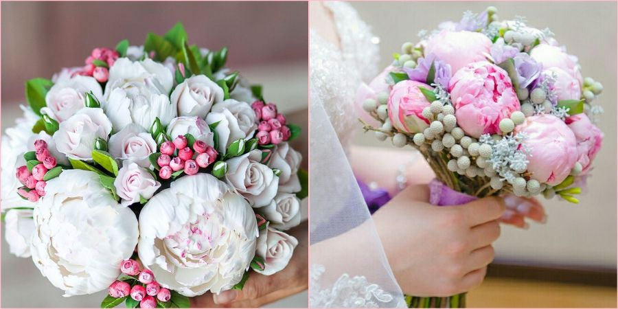 Шедевры из нежных цветочков