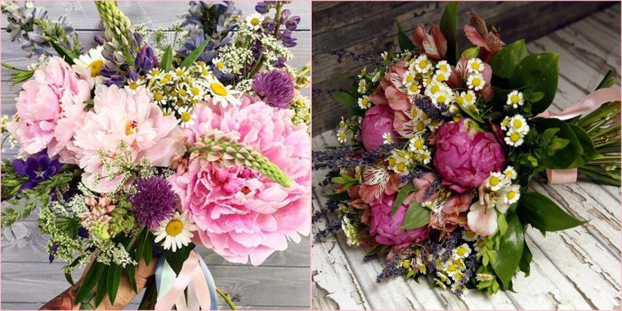 Полевые соцветия украсят ваш день