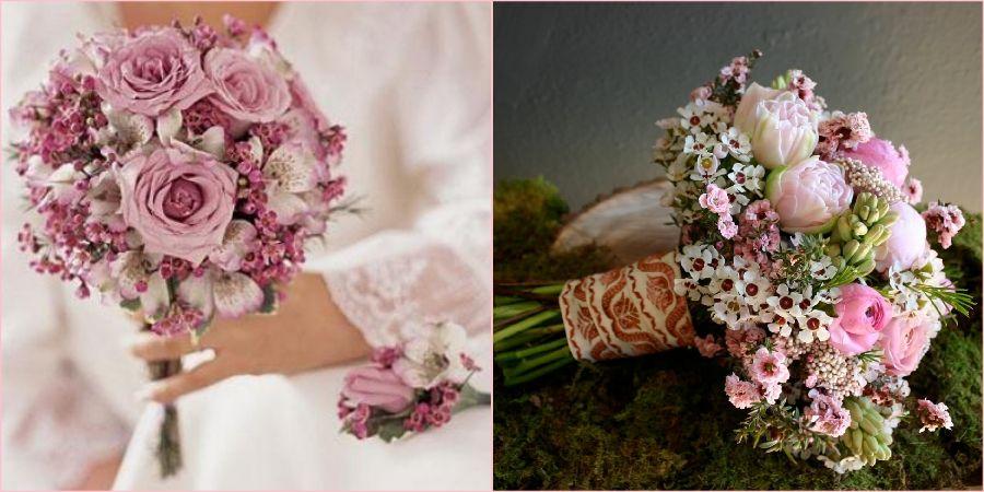 Ваксфлауэры станут прекрасным дополнением к цветам