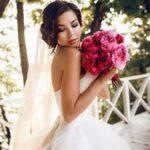 Свадебный букет из пионов для нежных и романтичных невест