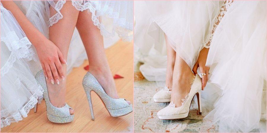 В мае на свадьбу уже возможно надеть туфли