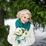 Букет невесты для свадьбы зимой