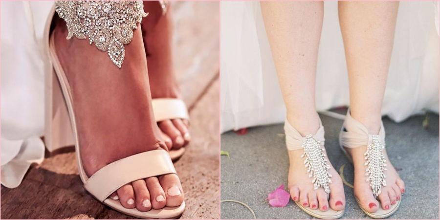 Босоножки и сандалии украсят образ девушки