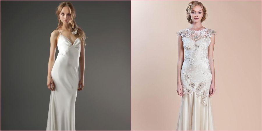 Шелковые платья очень красивы и эффектны