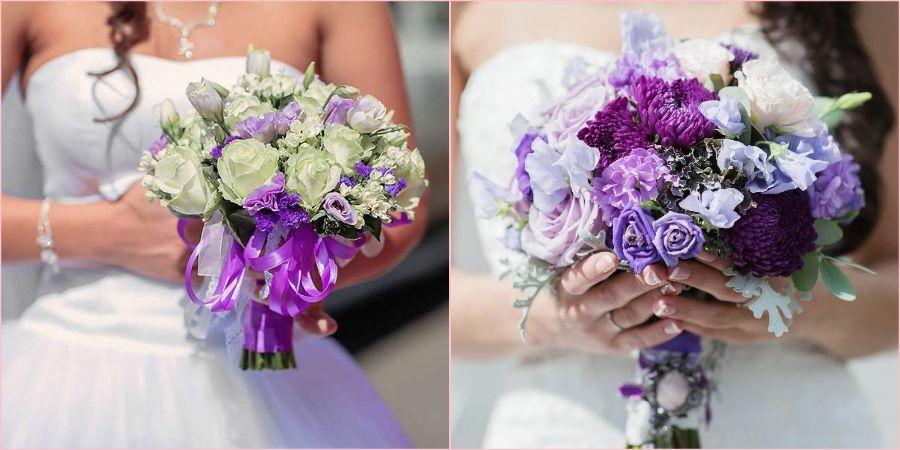 Яркий фиолетовый подойдет на теплую погоду