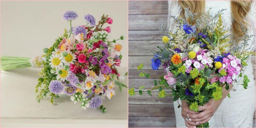 Луговые цветочки - это просто и естественно