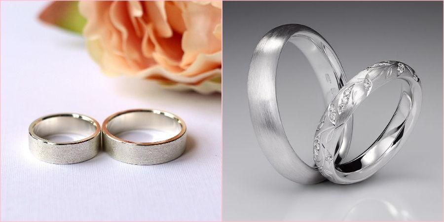 На фото образцы венчальных изделий