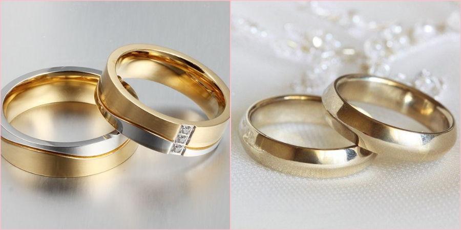 Желтое золото пользуется спросом у брачующихся