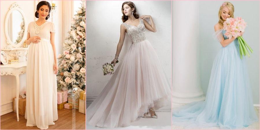 В свадебной моде полно летящих подолов