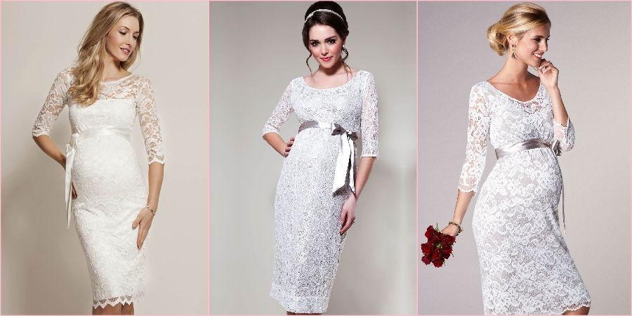 В моде короткие кружевные изделия на свадебное торжество