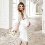 Платья для беременных на свадьбу: красивые нарядные варианты для будущих мам