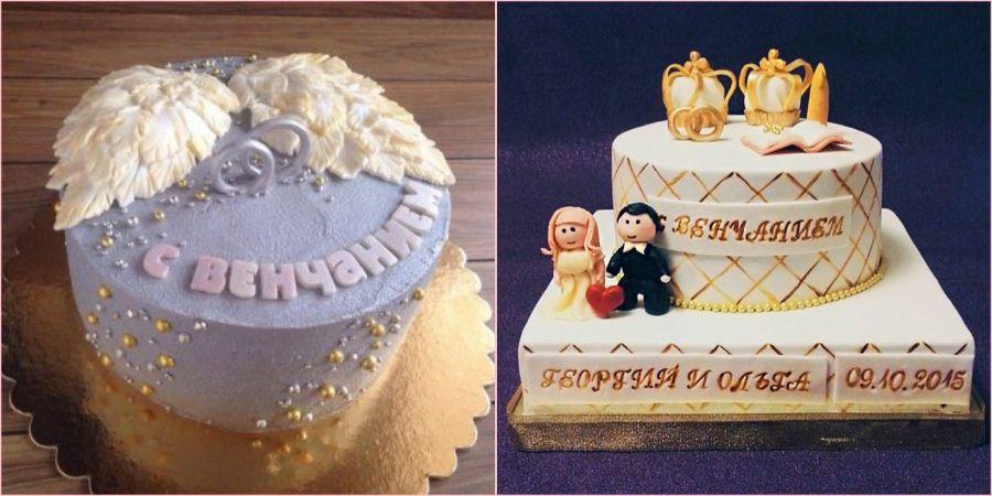Хорошая идея преподнести торт