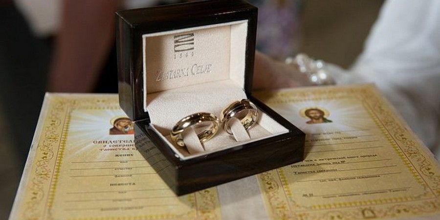 По церковным обычаям венчаться разрешается несколько раз