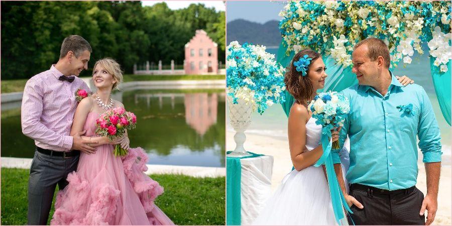 Бирюзовый и розовый наиболее подходящие расцветки для теплых месяцев