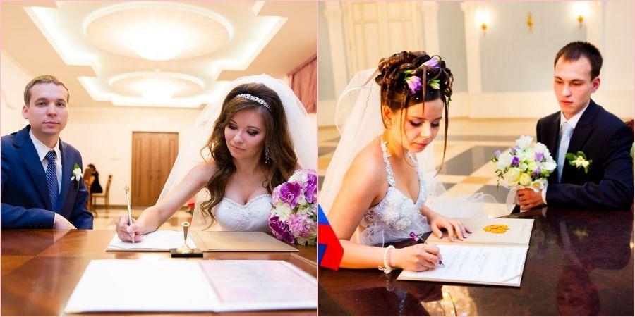 Свадебные наряды часто выбирают на скромное торжество