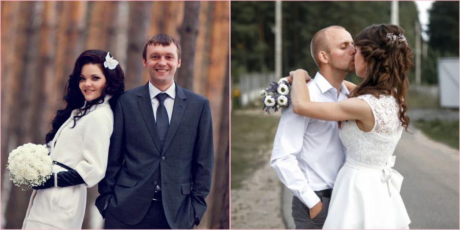 Многие влюбленные пары стали отказываться от пышных свадеб