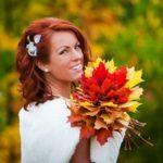 Букет для свадьбы осенью: красивые варианты для шикарного образа