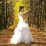Образ на свадьбу осенью: идеи и советы девушкам