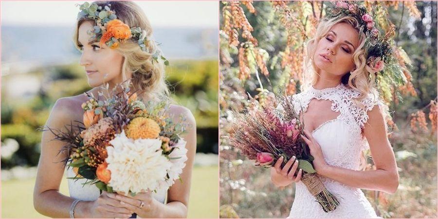Цветы превосходно украсят укладку