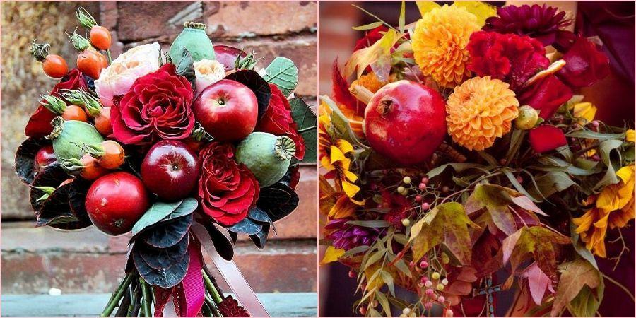 Атрибуты с фруктами выглядят оригинально