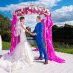Как сделать красивую свадебную выездную регистрацию брака: лучшие места и идеи, украшение и декор