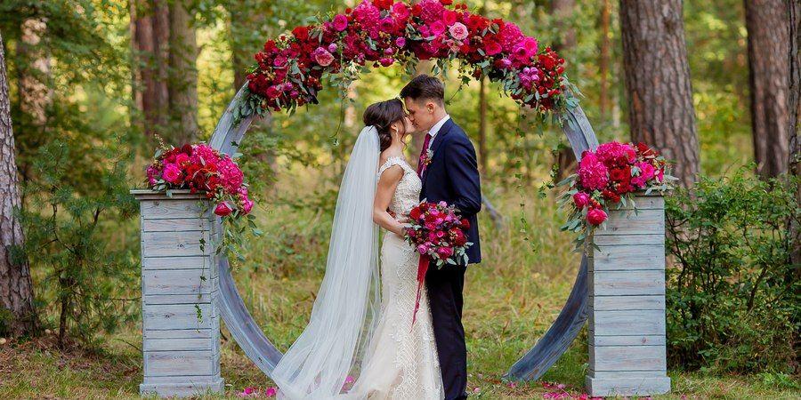 Сделать свадебный день неповторимым поможет регистрация на природе