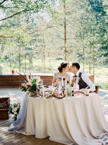 Свадьба на природе под открытым небом