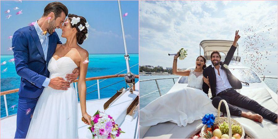 Арендуйте судно для романтической морской прогулки