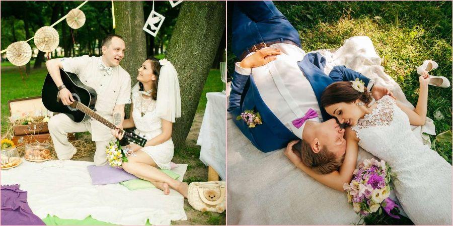 Пикник станет отличным решением для праздника вдвоем