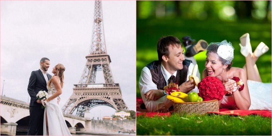 Отличная идея пожениться в чужой стране и устроить там фотосет