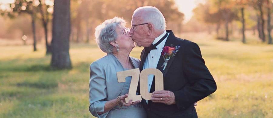 На такую круглую дату подарите супругам что-нибудь полезное
