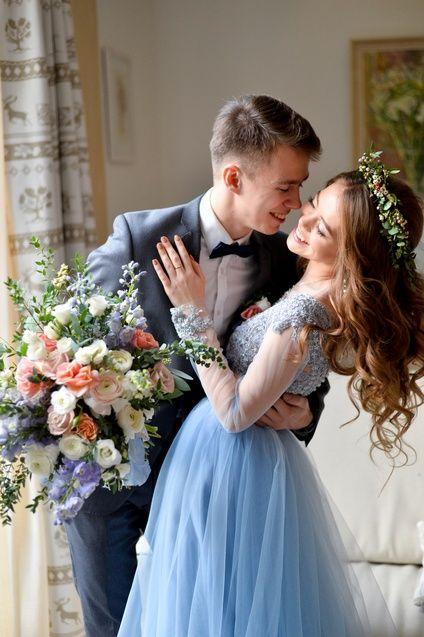 Супруги на льняную свадьбу