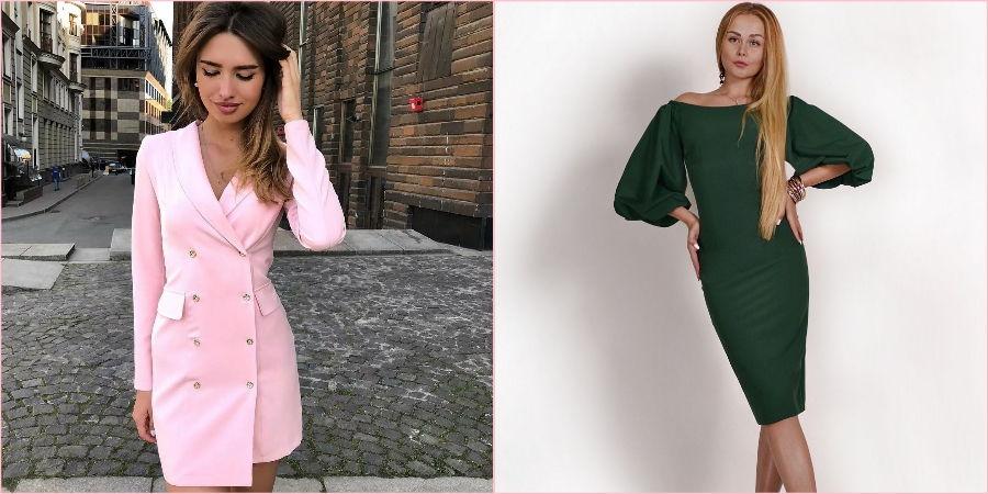 Платье-пиджак сейчас в моде