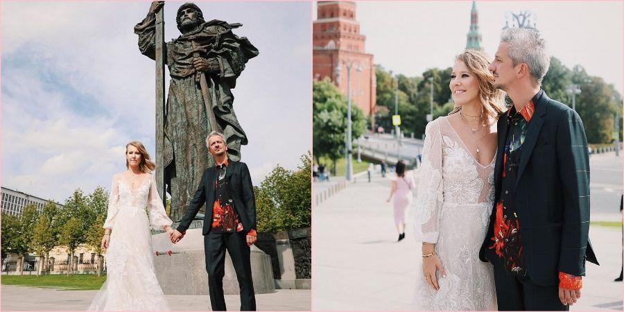 Свадебная прогулка ведущей и режиссера