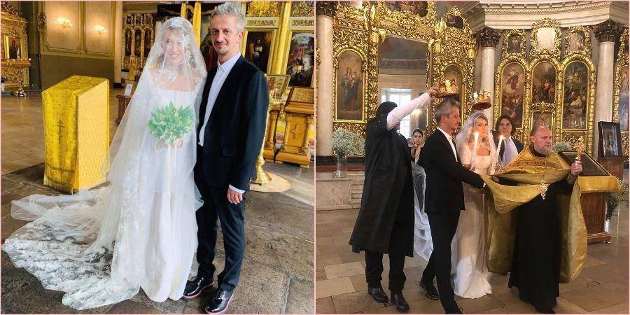 На венчании артистов присутствовали только самые близкие