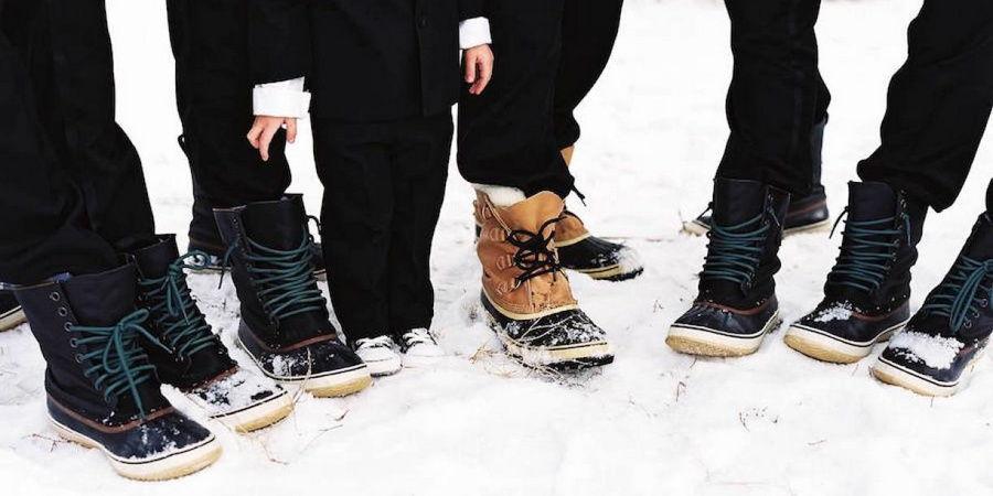 Зимняя обувь должна быть теплой