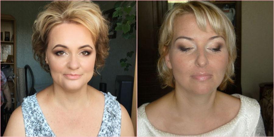 Взрослым дамам предпочтительнее неяркий макияж