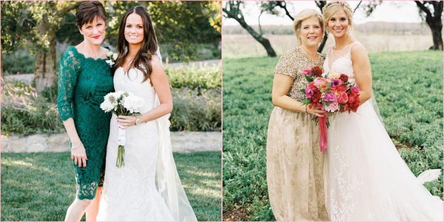 Матери невесты необходимо выбрать удобный наряд