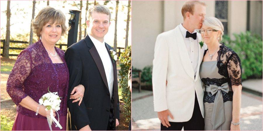 Мама на свадьбе сына должно выглядеть элегантно