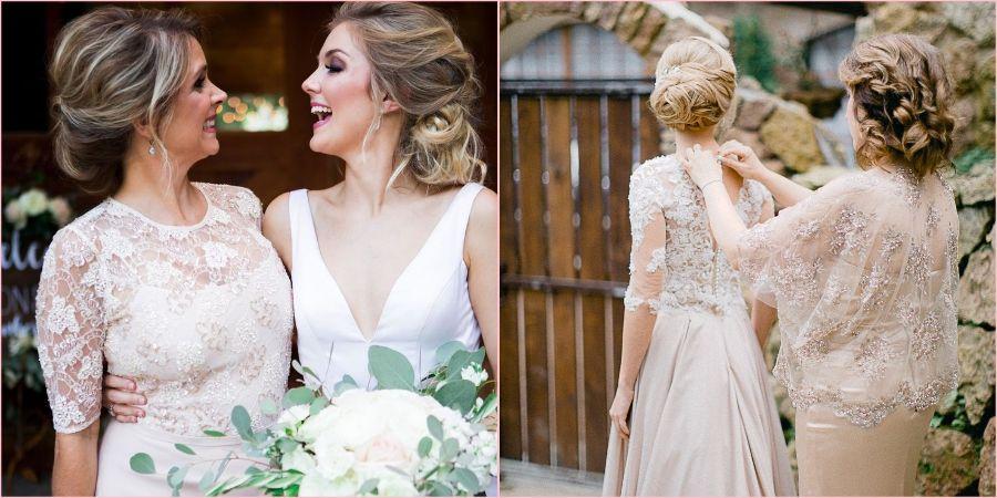 Есть правило не надевать белое на свадьбу к дочке