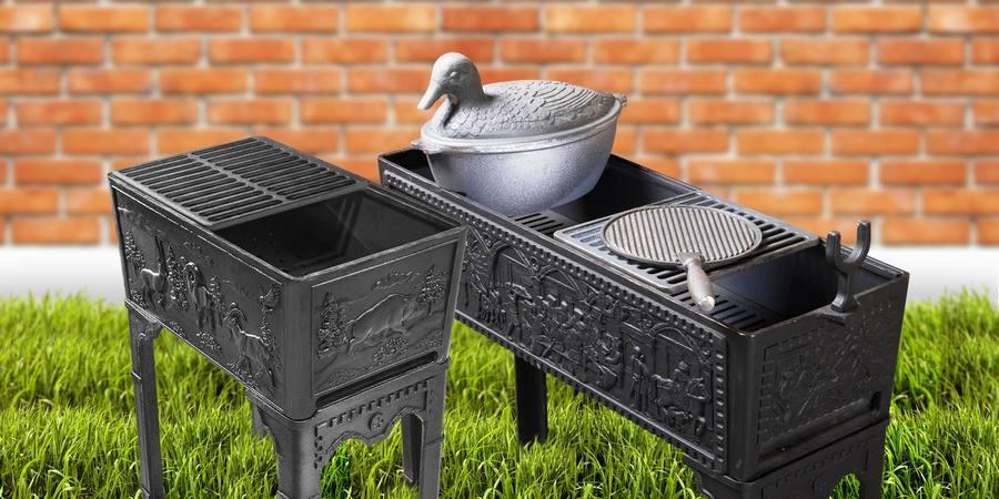 Чугунная кухонная утвать подойдет в качестве подарка